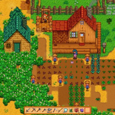 Stardew Valley Co-op In a Nutshell