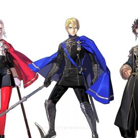 Fire Emblem Three Houses Looks To Have More Cutscenes; Big Focus On Story AND Gameplay?!